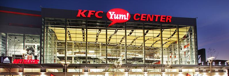 KFC Yum! Center leaderboard image