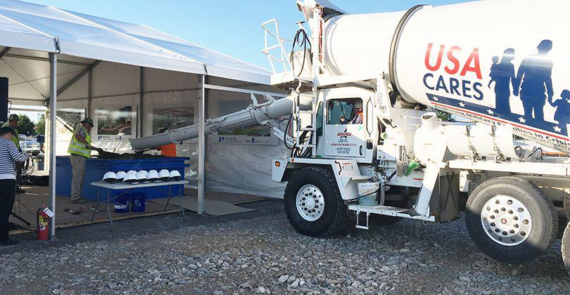 Advance Ready Mix helps make Norton Cancer Institute groundbreaking a success featured image