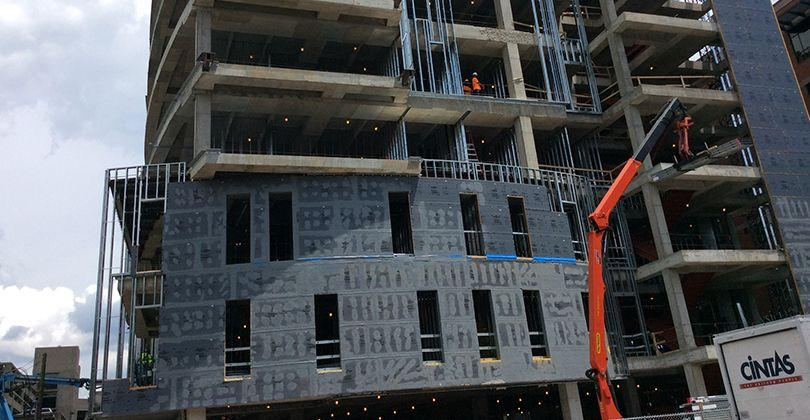 U of L's Pediatrics Medical Office Building makes final pour featured image