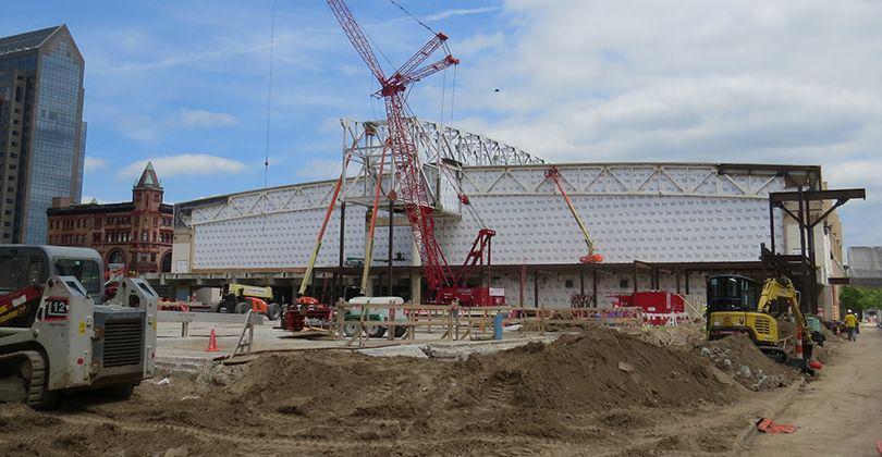 Kentucky International Convention Center Advancing